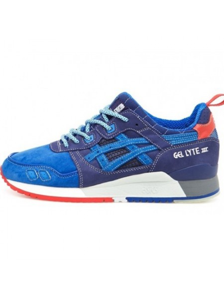 Кроссовки Asics Gel Lyte III Blue/White/Red