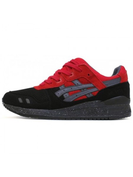 Кроссовки Asics Gel Lyte III Red/Black Concept