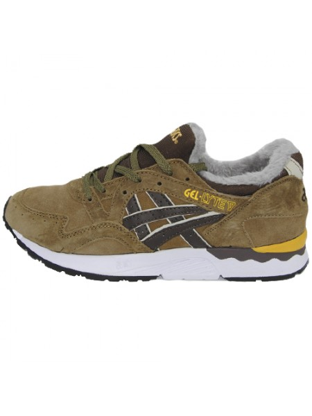 Кроссовки Asics Gel Lyte V Brown With Fur