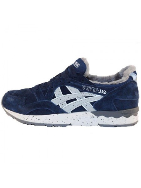 Кроссовки Asics Gel Lyte V Blue With Fur