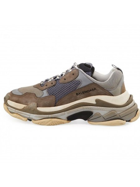 Кроссовки Balenciaga Triple S Brown