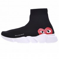Кроссовки Balenciaga Speed Trainer Black/White/Red