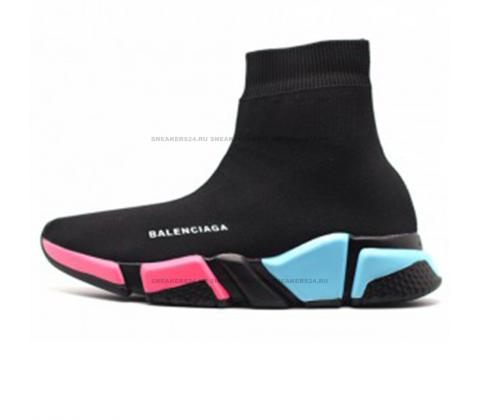 Кроссовки Balenciaga Speed Trainer Black Multi