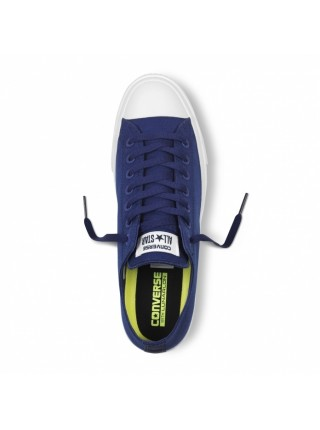 Кеды Converse All Star II Low Blue/White