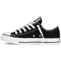 Converse All Star Chuck Taylor Low Black/White купить