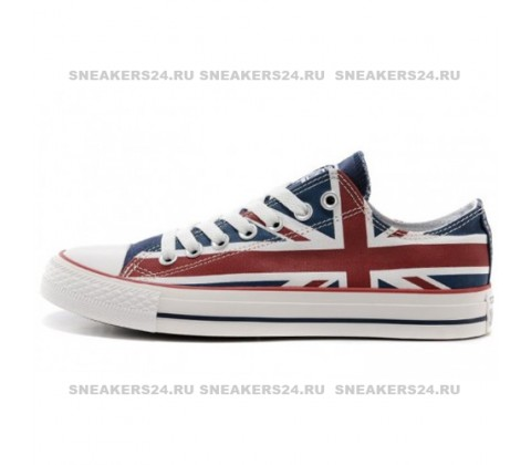 Кроссовки Converse All Star Stripes Britain Flag