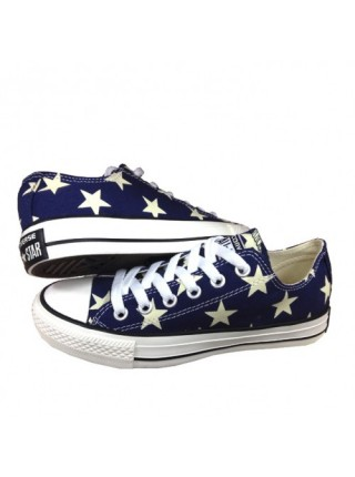 Кроссовки Converse All Star Stripes Blue