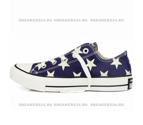 Кроссовки Converse All Star Stripes Blue