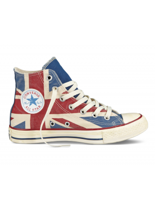 Кроссовки Converse All Star Chuck Taylor High Blue/Red
