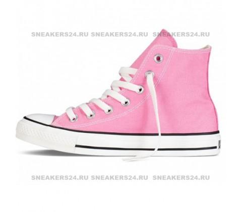 Кроссовки Converse All Star Chuck Taylor High Pink
