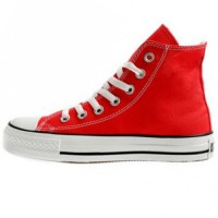 Красные Converse Chuck Taylor All Star High Ox Lean Red