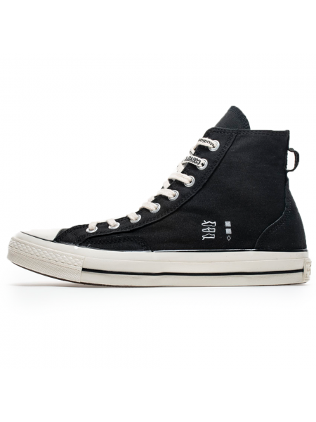 Черные Converse Chuck Taylor All Star '70 h x Midnight Studios Black