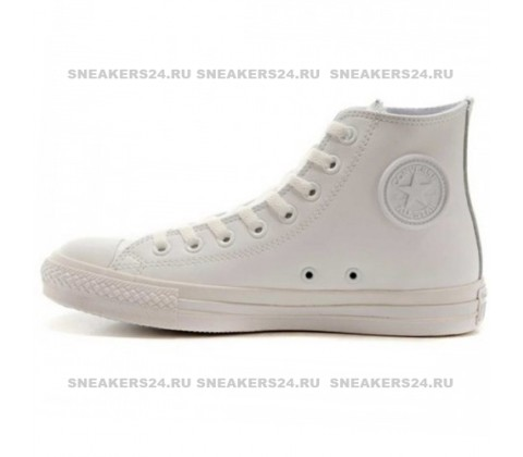 "Кроссовки Сonverse Сhuck Taylor All Star ""Rubber"" High White"