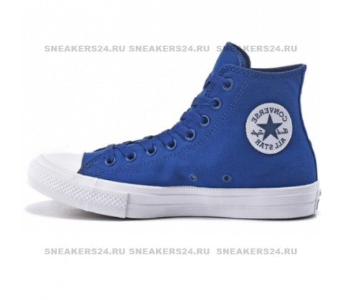 Converse Сhuck Taylor All Star II High Blue