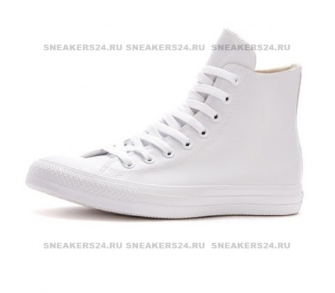 "Белые Сonverse Сhuck Taylor All Star ""Rubber"" High White"