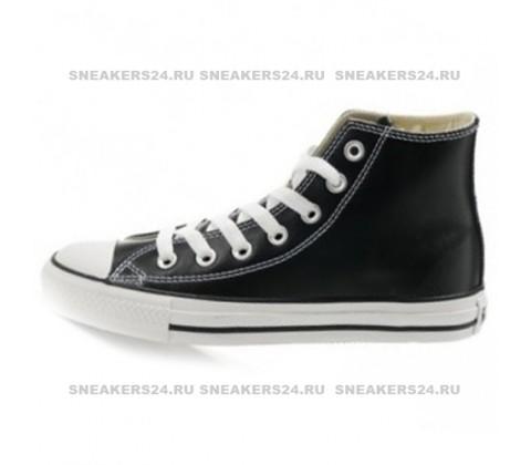 Кеды Сonverse Сhuck Taylor All Star Ox Leather High Black