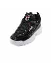 Кроссовки Fila Disruptor 2 Enamel Black Mens/Womens