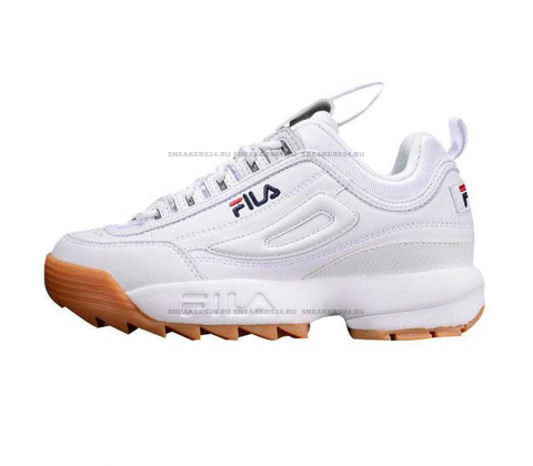 Кроссовки Fila Disruptor 2 White/Brown