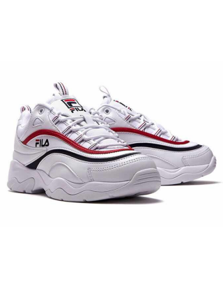 Кроссовки Fila Ray White/Red/Blue