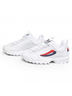 Кроссовки Fila Disruptor 2 White/Blue/Red