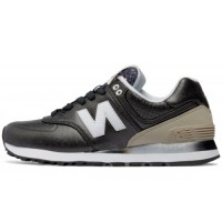 Кроссовки New Balance 574 Gradient Black/Beige