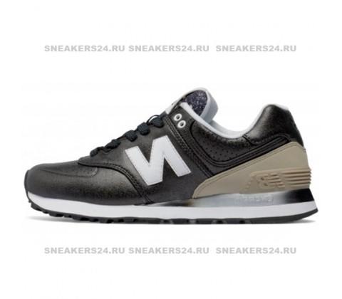 Кроссовки New Balance 574 Gradient Black/Beige