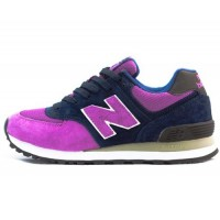 Кроссовки New Balance 574 Navy/Purple