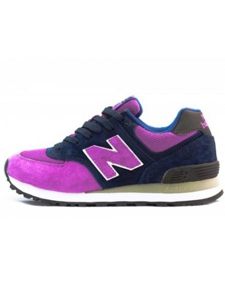 Кроссовки New Balance 574 Navy/Purple