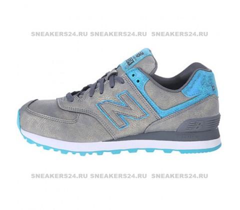 Кроссовки New Balance 574 Grey/Blue