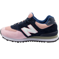Кроссовки New Balance 574 Dark Blue/Light Pink
