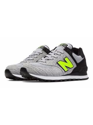 Кроссовки New Balance 574 Grey/Light Green