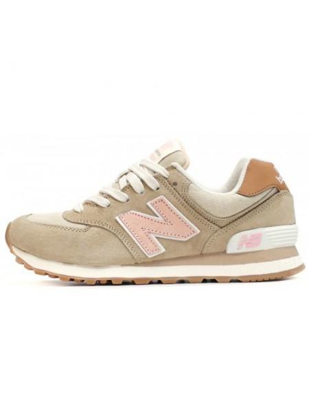 Кроссовки New Balance 574 Grey/Light/Pink