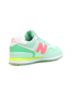 Кроссовки New Balance 574 Light Green/Coral