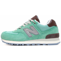 Кроссовки New Balance 574 Premium Mint/Brown