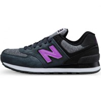 Кроссовки New Balance 574 Sharp Grey/Lilac