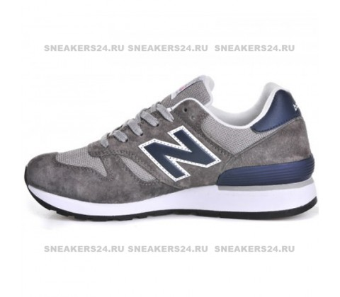 Кроссовки New Balance 670 Grey/Navy