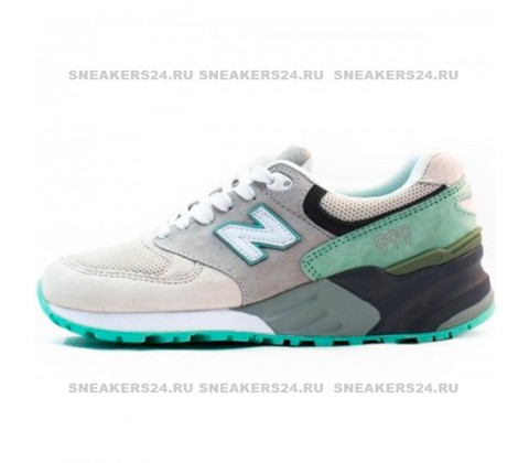 Кроссовки New Balance 999 Grey/Mint