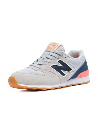 Кроссовки New Balance 996 Light Grey/Navy/Pink
