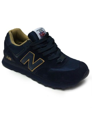 Кроссовки New Balance 574 Dark Blue/Brown