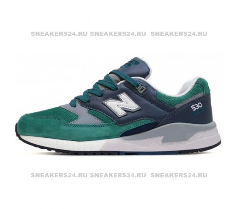 Кроссовки New Balance 530 Green/Dark Blue