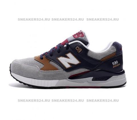 Кроссовки New Balance 530 Dark Blue/Grey