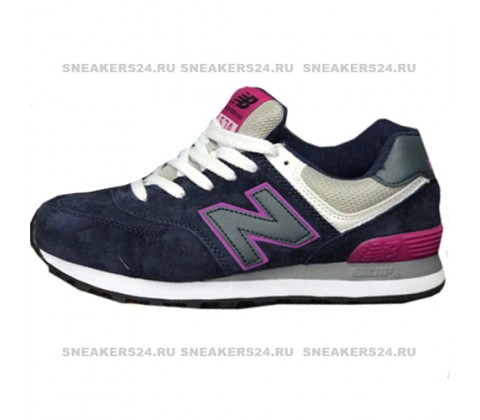 Кроссовки New Balance 574 Dark Blue/Purple