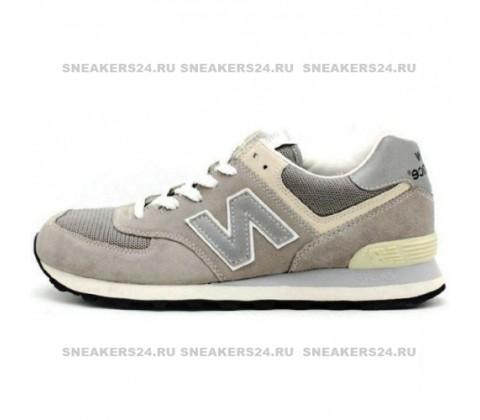 New Balance 574 Biege/White