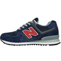 Кроссовки New Balance 574 Red/Blue