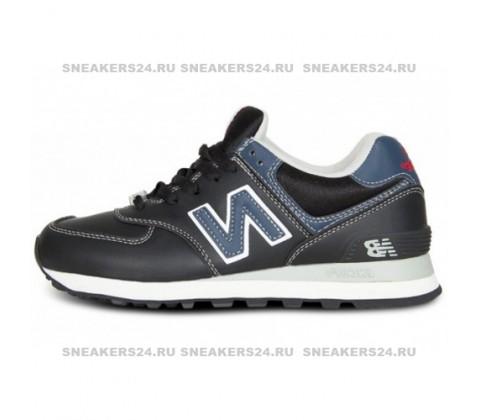 Кроссовки New Balance 574 Black/Blue
