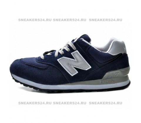 Кроссовки New Balance 574 Dark Blue