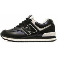 Кроссовки New Balance 574 Black/White Leather