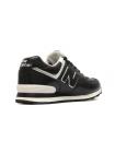 Кроссовки New Balance 574 Black/White Leather