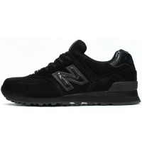 Кроссовки New Balance 574 Classic All Black Suede