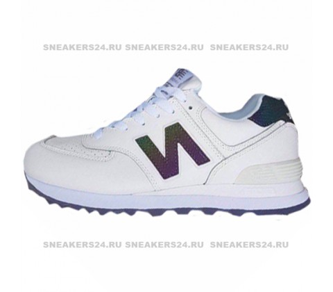 Кроссовки New Balance 574  White/Chameleon